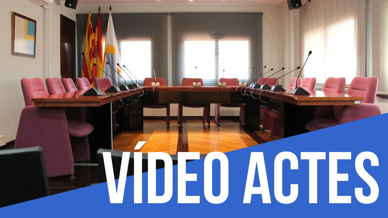 Vídeo actes