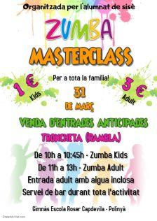 master class zumba