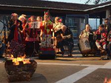 Sortida a la zambombá de Sant Boi amb el coro rociero del casal de la gent gran