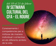Setmana Cultural del CFA El Roure