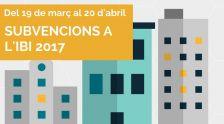 Subvencions IBI 2017
