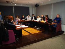 Sessió plenària a l'Ajuntment de Polinyà