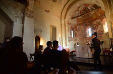 Visita de l'Institut  l'església de Polinyà