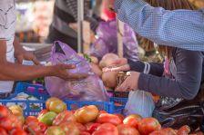 Mercat setmanal a Polinyà