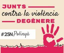 Dia Internacional contra la violència de gènere a Polinyà