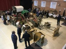 Exposició eines del camp Polinyà